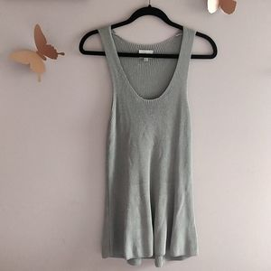 Wilfred Woven Tank Tunic Palmier